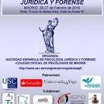 IX Congreso (Inter)Nacional de Psicología Jurídica y Forense, Madrid, febrero 2016