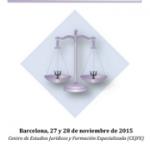 IV  Jornadas de Psicología Jurídica en Cataluña