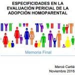 Especificaciones en la Evaluación Pericial de la Adopción Homoparental