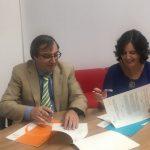Convenio de colaboración entre el Colegio de Psicólogos de Madrid y la APF