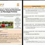 """Curso online """"Evaluación psicológico forense de la Madurez y Toma de decisiones"""""""